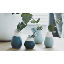 Mini vase pastel bleu
