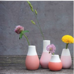 Mini vase pastel rose