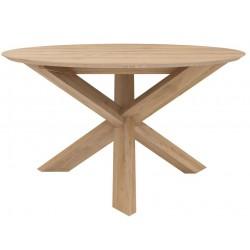 Table repas Circle chêne