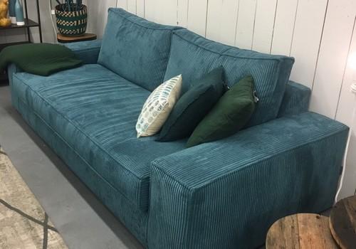 canapé lounge indigo pieds bas sofarev