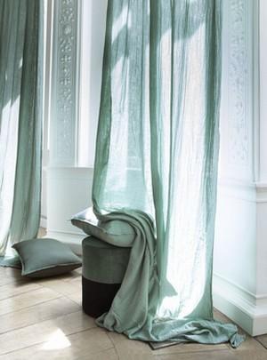 rideaux voile de cotondili harmony textile