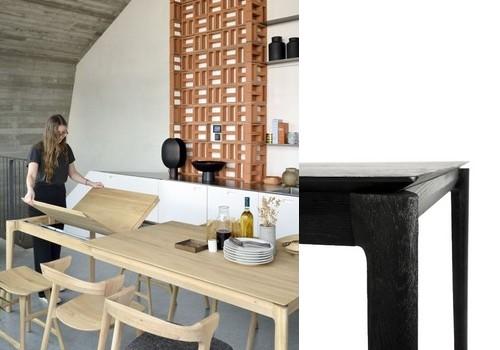 table repas bok chêne ethnicraft